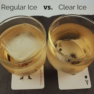 Clear Ice vs Regular Ice