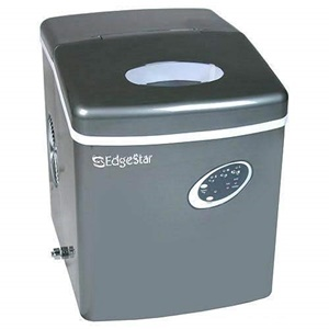 Edgestar IP210TI Titanium Portable Ice Maker Gray