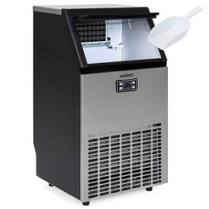 KUPPET Stainless Steel Commercial Ice Maker