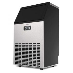 hOmeLabs Freestanding Commercial Ice Maker Machine