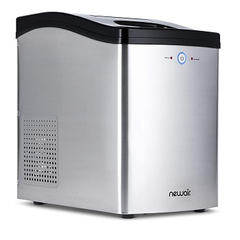 NewAir NIM040SS00 Countertop Nugget Ice Maker