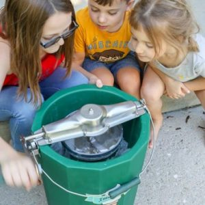 How To Use a Hand Crank Ice Cream Maker