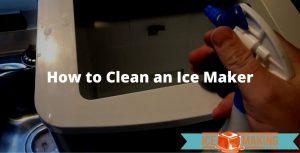 clean an ice maker