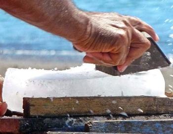 Option 5: Use a manual ice shaver